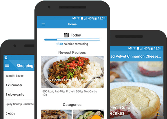 Total keto diet app recipes guides shopping lists more get hundreds of delicious low carb recipes shopping lists keto diet guides and much more at your fingertips with the total keto diet app forumfinder Image collections