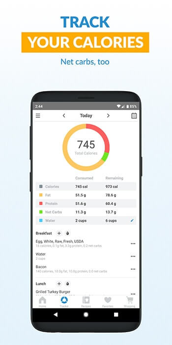 keto meal tracking